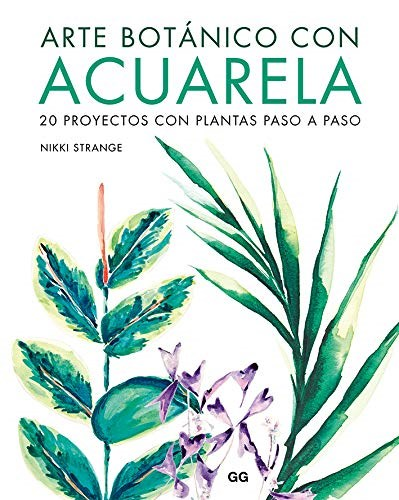 Arte Botanico Con Acuarela Strange Nikki