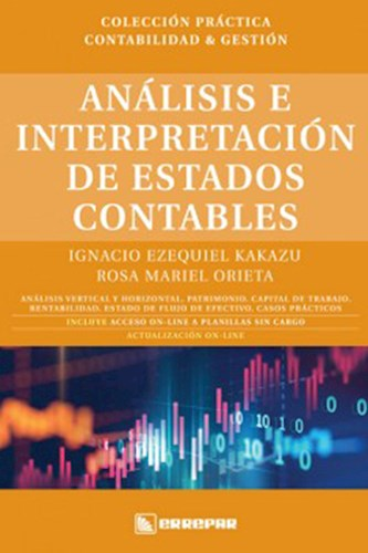 Analisis E Interpretacion De Estados Contables Kakazu Ignacio