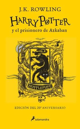 3. Harry Potter Y El Prisionero De Azkaban ( Hufflepuff ) 20 Aniversario Rowling J. K.